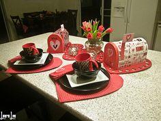 Valentines Breakfast Bar 2013