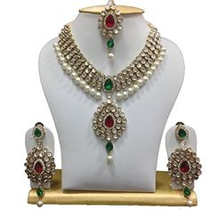 VVS Jewellers Indian Bollywood Designer Gold Plated Red &... https://www.amazon.com/dp/B01J3BT5KW/ref=cm_sw_r_pi_dp_U_x_nq-IAbZVZSM4H