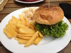 Pyszny #Burger zamówiony z #Elner.