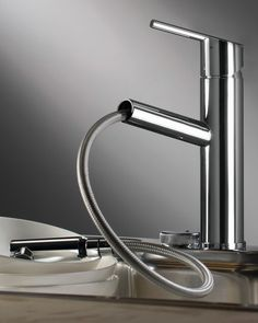 Ravello: Trento kitchen faucet from Italy with pull-out spray $676  >> Scopri le Offerte!