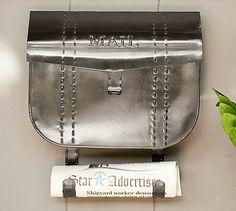 Saddle Bag Mailbox #potterybarn