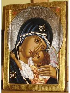 Orthodox Icons, Prado, Madonna, Gabriel, Mona Lisa, Matki, Artwork, Saints, God