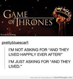 Game of Thrones funny comment