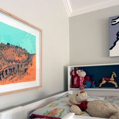 Love seeing our artist's work hung in our client's beautiful homes #southafricanlandscape #bennettcontemporary #proudlysouthafrican #conradbotes