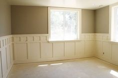 Now this is what the basement should look like. Lose the beadboard (with God know's what's behind it) add this, and plantation shutters and we're a go!