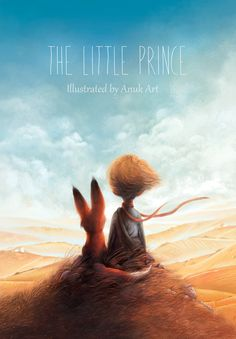 The Little Prince illustration by Ann Baratashvili