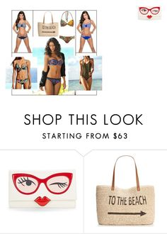 """To the beach by Nella's shop"" by nellasshop on Polyvore featuring Kate Spade and Style & Co."