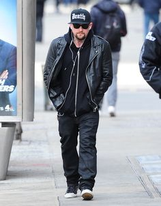 Benji Madden spotted in NYC (March 25, 2014)