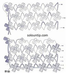 crochet chart for flower fringePretty floral edging for many crocheted items.crochet chart Would be pretty with a bead crocheted in the center (By Ana Brito): Encontrados na net! Filet Crochet, Crochet Shawl Free, Crochet Stitches Free, Crochet Diagram, Crochet Chart, Love Crochet, Crochet Scarves, Crochet Motif, Crochet Designs