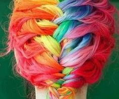 Dip Dyed Hair | via Tumblr