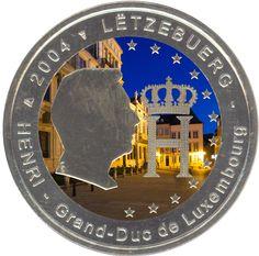 "2 Euro Luxembourg 2004 ""Monogramm"""