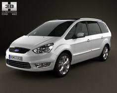 Ford Galaxy Mk3 2012