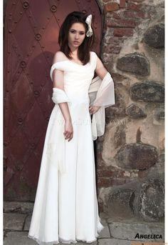 Sexy & Modern Kolumne Schlichte Designer  Elegante Brautkleider
