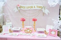 Princess Baby Shower Party Ideas | Photo 1 of 13 | Catch My Party