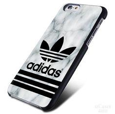 Adidas Marble White logo iPhone Cases Case