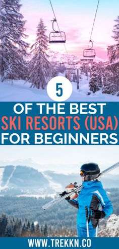 Learning to ski as an adult can be intimidating. Let us put your nerves at ease by sharing the best ski resorts for beginners in the U. Colorado Ski Resorts, Best Ski Resorts, Ski Resorts In California, California Travel, Travel Blog, Travel Usa, Colorado Winter, Skiing Colorado, Colorado Mountains