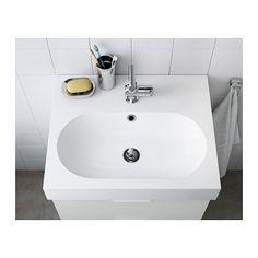 IKEA BRÅVIKEN single wash-basin 10 year guarantee. Read about the terms in the guarantee brochure.