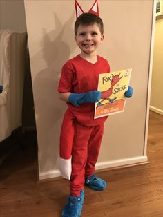 Dr Seuss fox in socks costume  sc 1 st  Pinterest & Lorax shirt for Dr Suess Week!!! | Preschool | Pinterest | Lorax ...