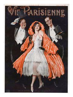 La Vie Parisienne French Fashion Magazine Cover - Google Search