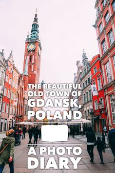 *** The Beautiful Old Town Of Gdansk, Poland - A Photo Diary || PART 1 - Hand Luggage Only - Travel, Food & Home Blog