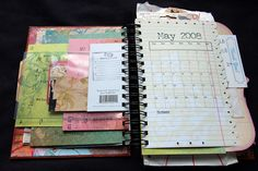 love this homemade planner!