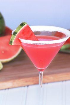 Sweet Summery Watermelon Martini