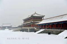 Forbidden City in snow                         紫禁城 冬雪紛飛 ...