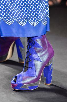 Anna Sui at New York Fashion Week Spring 2015 - Details Runway Photos