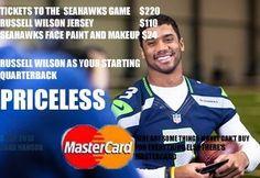 Seahawks Russell Wilson Priceless