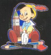 Disney's Pinocchio Artist choice by C. Alavezo Pin