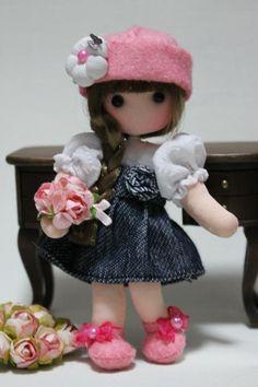 ''Fidelina Dolls...Soul Heart''. Doll Toys, Baby Dolls, Felt Crafts Dolls, Baby Fairy, Doll Costume, Waldorf Dolls, Pretty Dolls, Knitted Dolls, Soft Dolls