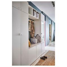 Armoire Entree, Glass Wardrobe, Recycled Door, Flur Design, Frame Shelf, Attic Conversion, Vestibule, Window Cleaner, Ikea Hack