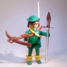 PLAYMOBIL Réf: 3337 / Jeune arquebusier / Robin Hood / Vintage