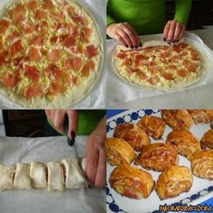 Funny pictures about For the pizza lovers. Oh, and cool pics about For the pizza lovers. Also, For the pizza lovers. Pizza Bites, Pizza Pizza, Funny Pizza, Pizza Dough, Pizza Recipes, Cooking Recipes, Homemade Pizza Rolls, Homemade Calzone, Pizza Roll Up