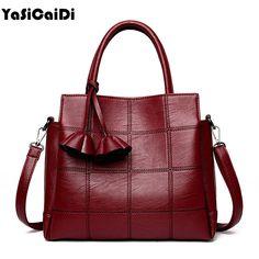Yasicaidi модная женская обувь из искусственной кожи сумки на плечо известный дизайнер Винтаж кисточкой большой женские сумки Сак