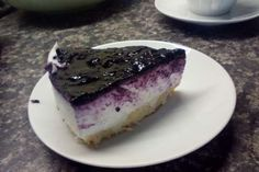 Jak připravit nepečený ostružinový cheesecake s ricottou   recept Cheesecake, Ricotta, Tuna, Pudding, Fish, Meat, Cakes, Cake Makers, Cheesecakes