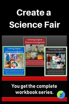 Is your school having a science fair? May be you need to create a classroom project. This workbook series contains practice pages, tips, blank science journal, display board layout, judging forms and more. Work together as a class to take a science topic and turn it into a unique project. Divide the class into groups and have them each create a project on a class topic. Integrates with science and engineering practices for *Next Generation Science Standards. Teacher approved.