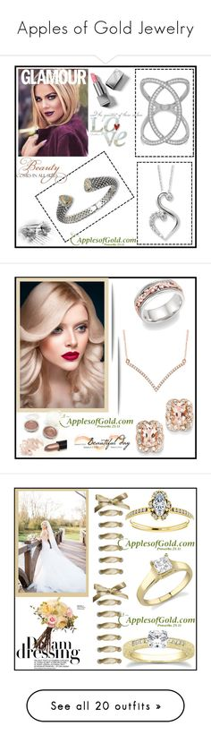 """""""Apples of Gold Jewelry"""" by elma-993 ❤ liked on Polyvore featuring WALL, Burberry, Fountain, Rachel Allan, Pussycat, Martha Stewart, Monday, modern, Jean-pierre Braganza and Milani"""