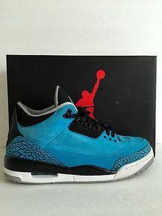 Nike Retro Air Jordan 3 III Powder Blue Size 10