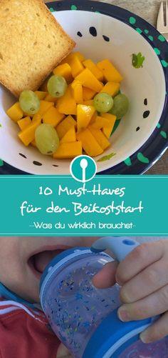 Diese 10 Dinge brauchst du wirklich zum Beikoststart und um Babybrei selber zuzubereiten.