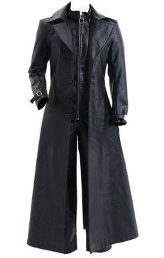 Resident Evil 5 Costume Albert Wesker Black Coat Jacket $179.00-$199.99