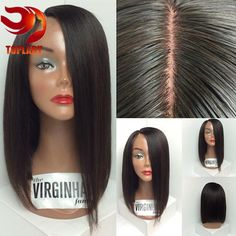 Glueless Full Lace Wigs With Baby Hair Human Hair Wigs For Black Women Straight Full Lace Human Hair Wigs Lace Human Hair Wig Model Model Wigs Lace Wig Trend From Topladyhouse, $78.7| Dhgate.Com