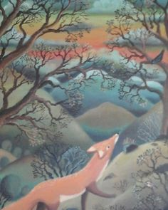 Kettu ja kuukkelit Imagination, Brother, Magic, Painting, Art, Art Background, Fantasy, Painting Art, Kunst