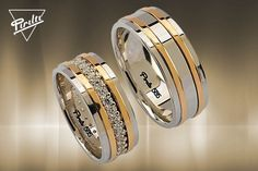 Wedding Ring Styles, Wedding Ring Designs, Engagement Rings Couple, Couple Rings Gold, Mens Diamond Wedding Bands, Gold Ring Designs, Beautiful Wedding Rings, Pretty Rings, Jewelry Rings