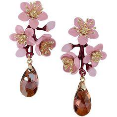 La Hormiga Earrings ($110) ❤ liked on Polyvore featuring jewelry, earrings, light purple, earrings jewelry and lavender earrings