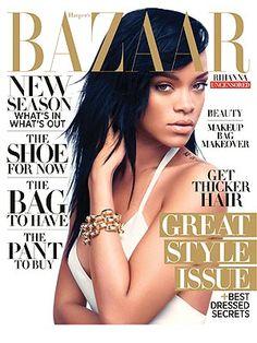 Rihanna in August '12