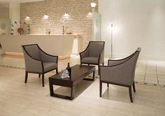 VOGEL hiback  lounge chair : ホテルのロビー空間などにマッチする、ハイバックラウンジチェアです。