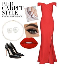 """""""Red Carpet Style #26"""" by lunqqa on Polyvore featuring Alexander McQueen, Tara, Kenneth Jay Lane and Lime Crime"""