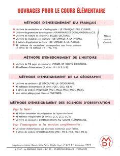 Manuels anciens: Durousseau, Belles lectures CE