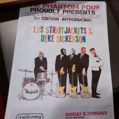 https://flic.kr/p/KK2MT5   Poster Los Straitjackets and Deke Dickerson   Poster Los Straitjackets and Deke Dickerson - Melkweg